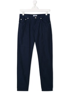 Dondup Kids прямые брюки чинос