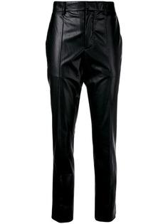 MSGM лакированные брюки