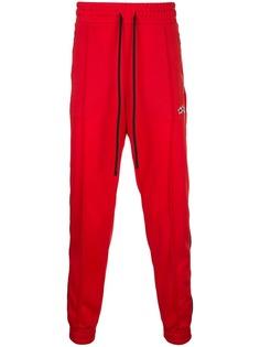Amiri спортивные брюки с полосками по бокам