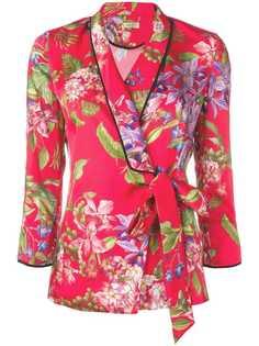 Liu Jo пиджак с цветочным принтом