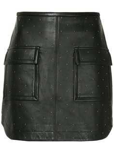 Manning Cartell юбка мини с заклепками