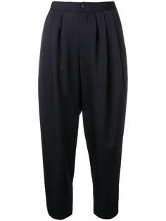 Comme Des Garçons Comme Des Garçons брюки мешковатого кроя