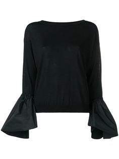 Moncler свитер с пышными рукавами