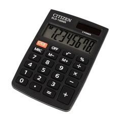 Калькулятор CITIZEN SLD-100NR, 8-разрядный, черный