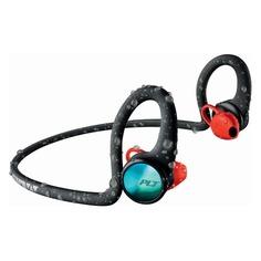 Наушники PLANTRONICS BackBeat Fit 2100, вкладыши, черный матовый/красный, беспроводные bluetooth