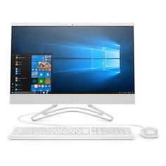 """Моноблок HP 24-f0033ur, 23.8"""", Intel Core i3 8130U, 8Гб, 1000Гб, 128Гб SSD, NVIDIA GeForce GT MX110 - 2048 Мб, Windows 10, белый [4hc22ea]"""