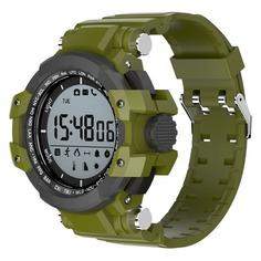 """Смарт-часы JET Sport SW3, 1.2"""", серый / зеленый [sw3 green]"""