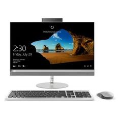 "Моноблок LENOVO IdeaCentre 520-24IKU, 23.8"", Intel Core i3 7020U, 4Гб, 1000Гб, Intel HD Graphics 620, DVD-RW, Windows 10, серебристый [f0d200ajrk]"