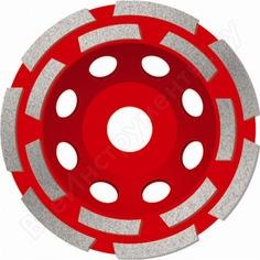 Чашка алмазная двухрядная по бетону стандарт s-msh180 (180х22.2 мм) адель кк08532