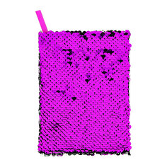 Блокнот FUN DOUBLE SHINE Purple 10x15 см