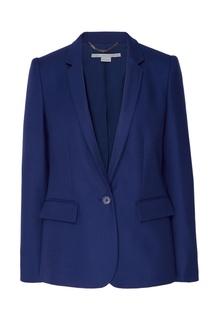 Синий шерстяной жакет Stella Mc Cartney