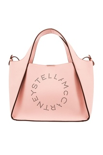Розовая сумка с логотипом Stella Mc Cartney