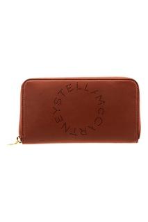 Портмоне коричневого цвета Stella Mc Cartney