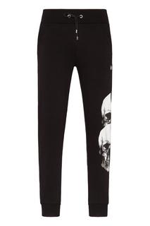 Черные спортивные брюки со стразами Philipp Plein