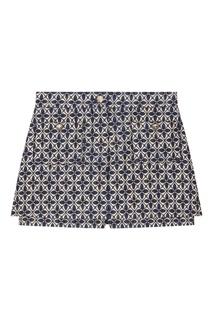 Жаккардовая юбка-шорты Maje