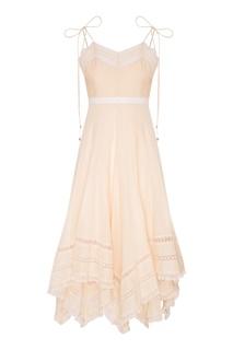 Платье из хлопка Zimmermann