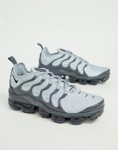 Темно-синие кроссовки Nike Air Vapormax Plus - Серый