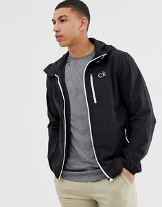 Черная куртка Calvin Klein Golf C9389 - Черный