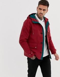 Красная куртка с капюшоном Pretty Green - Красный