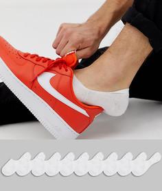 Набор из 10 пар белых невидимых носков ASOS DESIGN - Белый