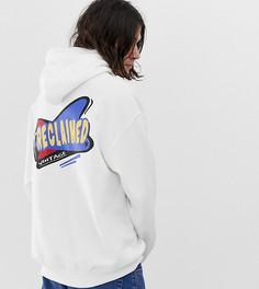 Oversize-худи с логотипом Reclaimed Vintage - Белый