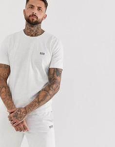 Серая футболка с логотипом BOSS Bodywear - Серый