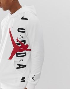 Худи белого цвета Nike Jordan - Белый
