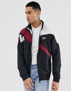 Черная спортивная куртка Reebok Vector - Черный