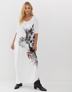 63b040db663 Длинные платья оверсайз – купить длинное платье в интернет-магазине ...