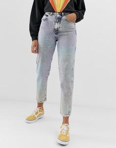 Выбеленные джинсы в винтажном стиле Wrangler - Синий