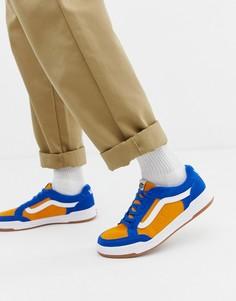 Желтые кроссовки в стиле колор блок Vans Highland - Желтый