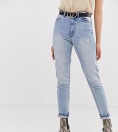 Джинсы в винтажном стиле с завышенной талией Vero Moda Tall - Синий