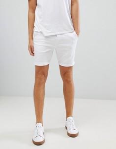 Белые шорты чиносы зауженного кроя ASOS DESIGN - Белый