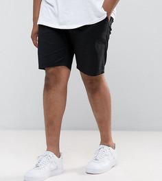 Черные узкие шорты чиносы ASOS DESIGN Plus - Черный