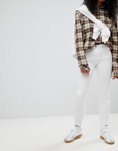 Белые джинсы скинни Calvin Klein - Белый