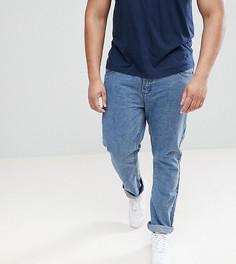 Синие выбеленные джинсы классического кроя Loyalty and Faith PLUS - Синий