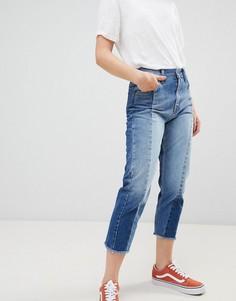 Укороченные джинсы бойфренда Pepe Jeans - Синий