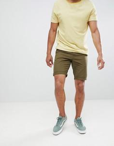 Шорты чиносы цвета хаки New Look - Зеленый