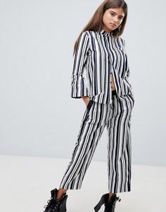 Свободные брюки в полоску G-Star - Мульти