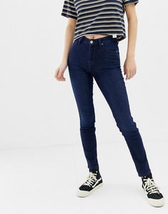 Зауженные джинсы с завышенной талией Lee Scarlett - Синий