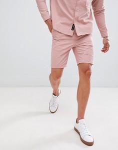 Комбинируемые плиссированные шорты Native Youth - Розовый