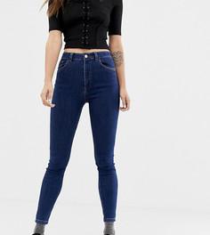 Темные джинсы скинни Reclaimed Vintage The 90 - Синий