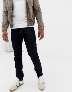 Темные узкие джинсы с кромкой PS Paul Smith - Темно-синий