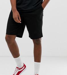 Черные свободные шорты чиносы ASOS DESIGN Tall - Черный