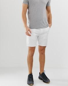 Белые узкие шорты чиносы ASOS DESIGN - Белый