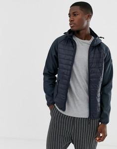 Темно-синяя стеганая куртка Esprit - Темно-синий