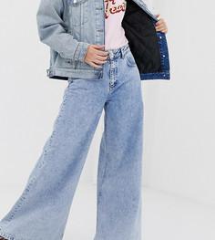 Светлые широкие джинсы с заниженной талией Reclaimed Vintage The 94 - Синий