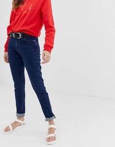 Джинсы скинни с завышенной талией Calvin Klein - Темно-синий