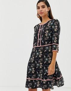 Платье с цветочным принтом Liquorish - Мульти