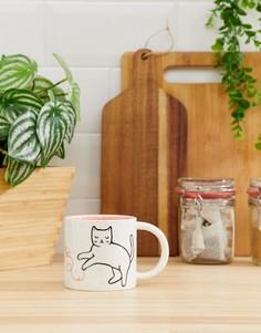 Кружка с котом Sass & Belle cutie cat - Мульти